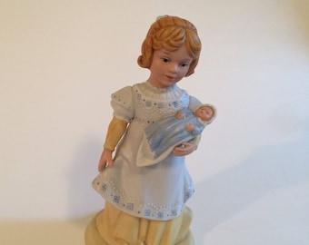 A Mother's Love Avon 1981 Porcelain Vintage Figurine