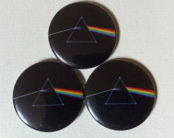 "Pink Floyd ""Dark Side of the Moon"" Pinback Button"