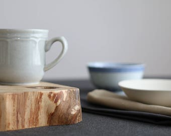 Table centerpiece. Wooden tray. Reclaimed wood. Eco-friendly decor