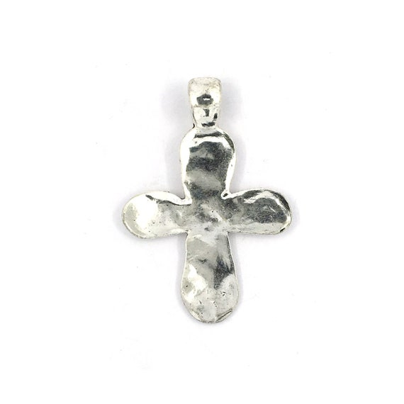"""Great charm - silver colored """"cross"""""""