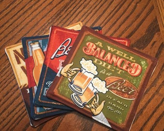 Beer Coaster Four Pack