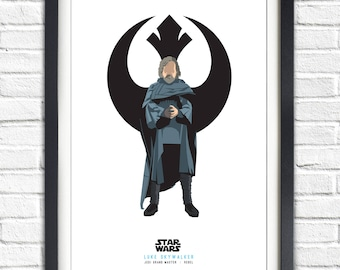 Star Wars - Solo Series - Luke Skywalker - 19x13 Poster