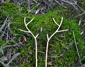 Deer antler hair pin Fairytale gift Deer antler jewelry Hairpin Hair clip Hair jewelry Mori girl Woodland hair clip Fantasy jewelry Forest
