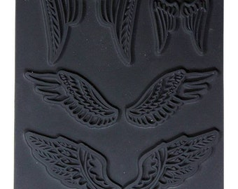 Texture Stamp - Feather Wings by Christi Friesen (PN4744) **CLOSEOUT**