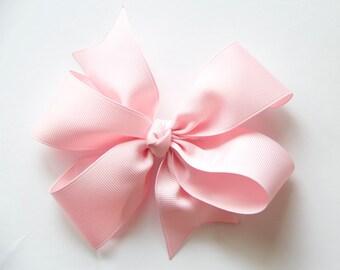 Big Boutique Bow - Choose from 15 colors - Girl Bow - Hair clip - Large Ribbon Bow - Big Hair Bow - Toddler, Girl Ribbon Hair Bow