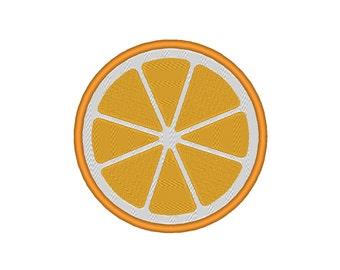Orange Citrus Fruit Lime Lemon Grapefruit Embroidery Machine Design