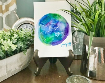 Wave Dot Painting