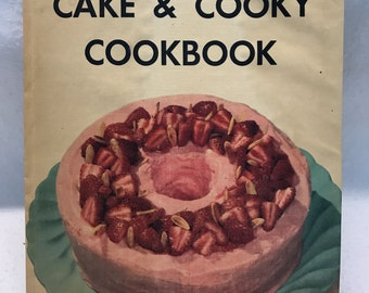 Family Circle Cake & Cooky Cookbook 1952