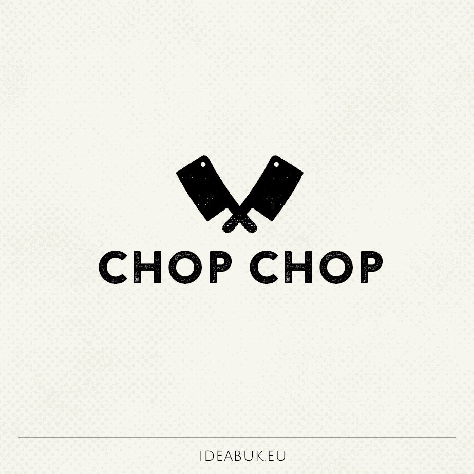 Pre Made Logo Design Knife Logo Cooking Logo Kitchen Logo