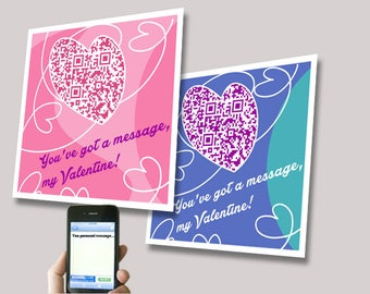 Kid classroom Valentines Day card, personalized Message, kids valentine cards, mini Valentine's Day cards, Kids Cards,