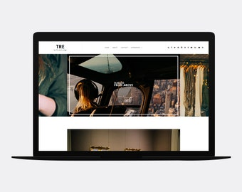 Responsive Blogger template | TRE