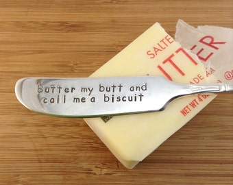 birthday gifts for mom, gift for her, butter knife, butter my butt and call me a biscuit, funny birthday gift, mom birthday