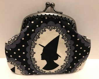 Witch Silhouette Coin Purse