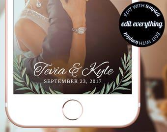 Eucalyptus Wedding Snapchat Filter Eucalyptus Snapchat Filter Wedding Geofilter Custom Snapchat Geofilter Greenery Snapchat Wedding