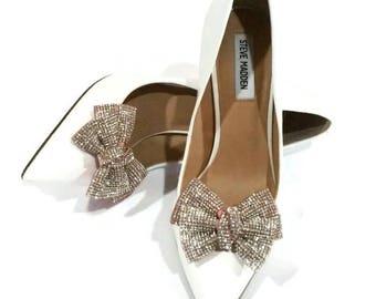 Rhinestone Crystal Wedding Shoe Clips, Rhinestone Shoe Clips, Bridal Accessories, Crystal Accessories, Wedding Shoe Clips, Sexy Shoe Clips