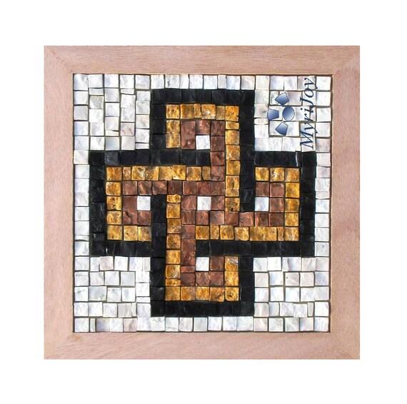 Mosaic Tiles Craft Kit Diy Easy Solomon S Knot