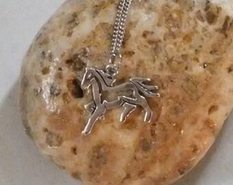 Frisky Horse Necklace