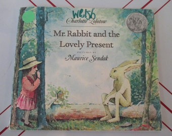 Mr. Rabbit and the Lovely Present by Charlotte Zolotow Vintage 1977 Children's Book