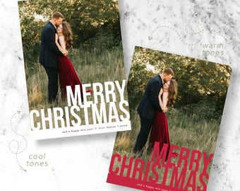 Headliner Christmas Holiday Photo Cards