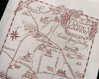 Santa Barbara Wine Country Tote