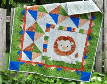 Roar Downloadable Quilt Pattern