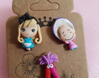 Alice's friends studs