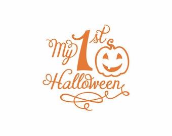 Happy Halloween with Cute Pumpkin Design -Happy Halloween svg -Cricut Space Design -Iron on Transfer -Cricut file -Laser Cuttin and Engravin