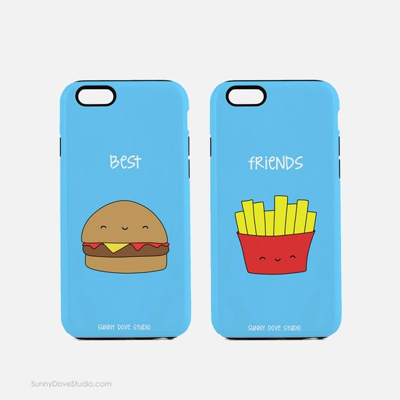 Phone Case Funny Best Friends BFF IPhone Cases Gift For Friend
