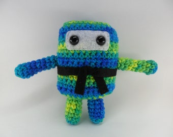 Mini Ninja Plush - Bananaberry / Blue / Green / Yellow / Turquoise
