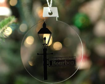 New Orleans Lamp Post Ornament