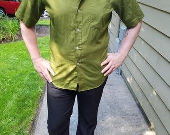 Olive 60's Shirt