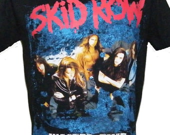 Skid Row Wasted Time T-Shirt XL
