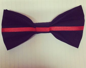 Thin Red Line bow tie