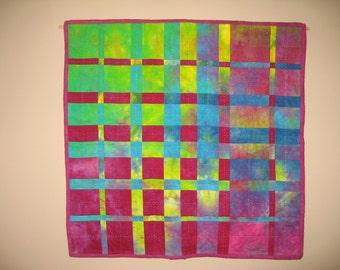 Miniature Harmonic Convergence quilt