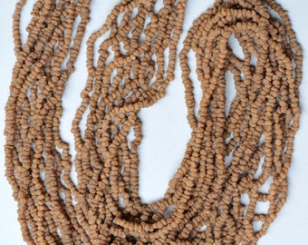 10 Strands of African Myrrh Beads from Mali - 36 Inch Necklace - African Trade Beads