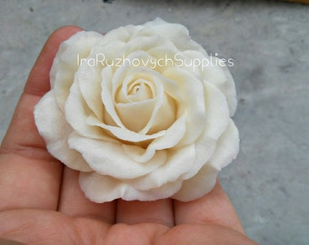 Rose, cold porcelain flower, flowers for decor