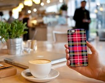 Custom Plaid iPhone / Samsung Galaxy S5/6 Case