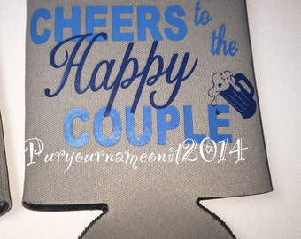 15 Cheers to the happy couple can coolers great for a bachelorette/bachelore party!