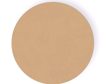 24 Inch Unfinished Wood Circle - Paint Grade Circle - Unfinished Disc