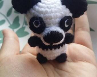 Panda Amigurumi Keychain