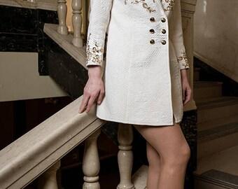 Golden White Jacket