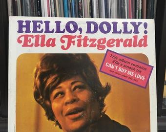 "Ella Fitzgerald- ""Hello, Dolly!"" vinyl record"