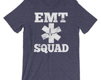 EMT Squad, Emergency Medical Technician, Medical Team Shirt, EMT Medical Star, Paramedics Shirt, EMT Gift, Paramedic Love, Paramedic Gift