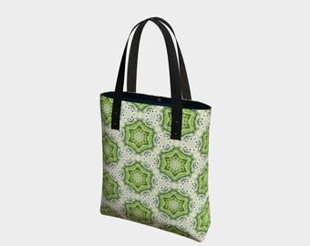 Spiral Stars Tote Bag
