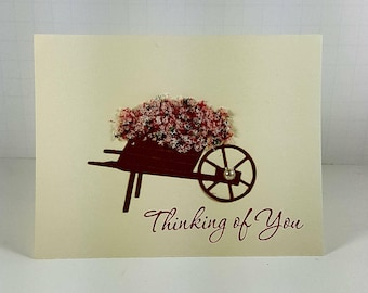Thinking of You Card - Thinking of you with Love