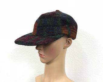 90's vintage woolrich wool baseball cap hat size XL