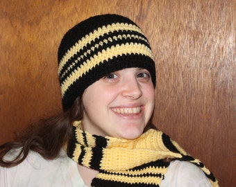 Spirit Colors Beanie and Scarf Set (any two colors!)