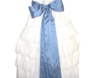 Victorian girls dress - Flower Girls Dress - Heirloom Girls Dress -