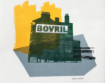 Bovril, Limited Edition Screen Print