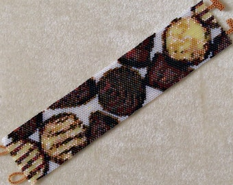 Chocolates - Peyote Bracelet Pattern